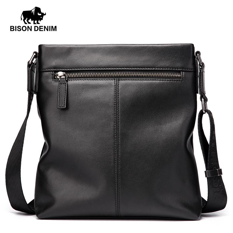 Bison Denim Men Luxury Crossbody Messenger Bag