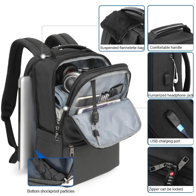 Tigernu Men Laptop Backpack With RFID