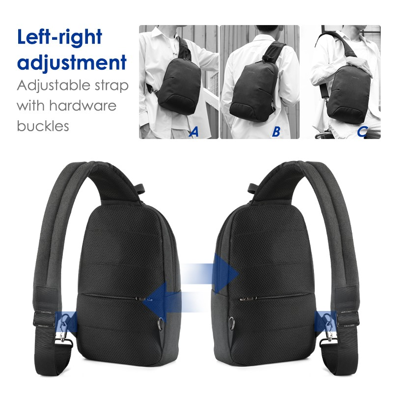 Tigernu Men Multi-functional Light Weight Sling Chest Bag