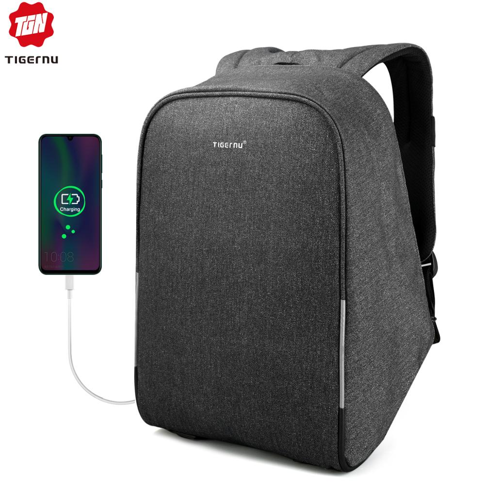 Tigernu Unisex Anti-theft Laptop Backpack