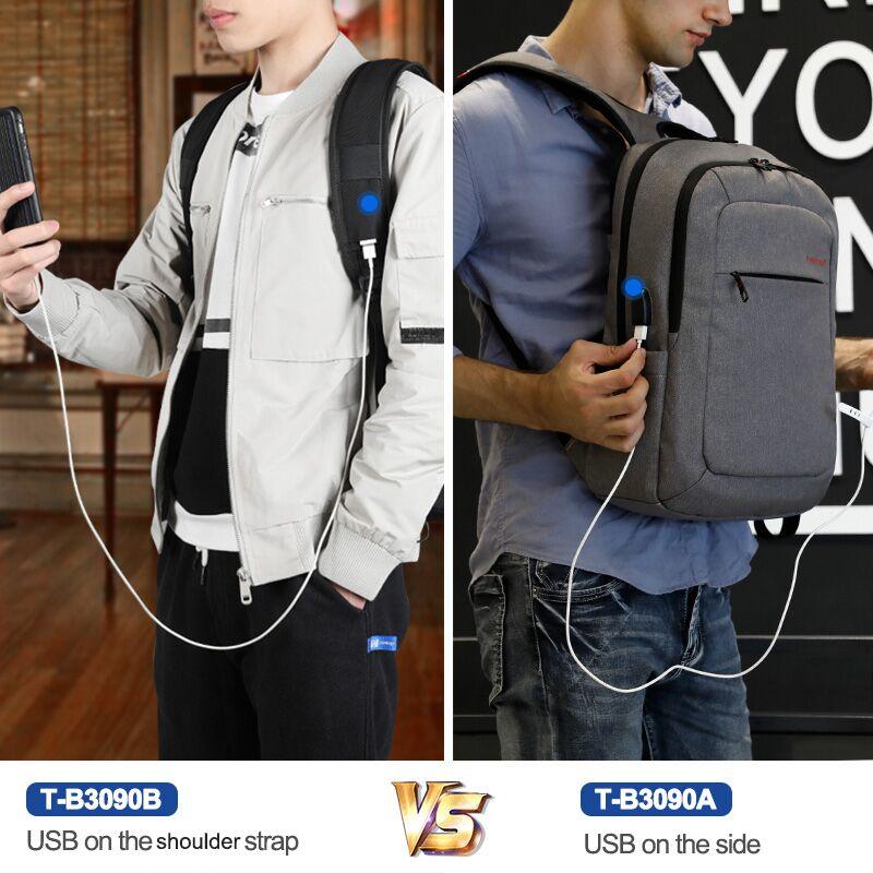 Tigernu Unisex Fashion USB Recharging Rucksack