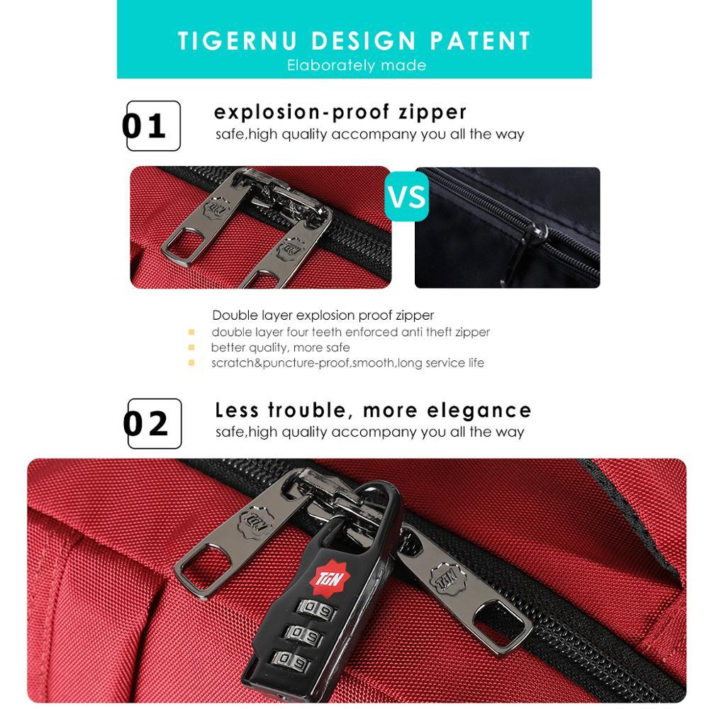Tigernu Women Anti theft Laptop Backpack