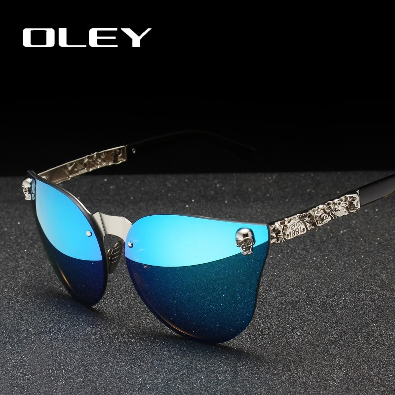 OLEY Women Gothic Sunglasses