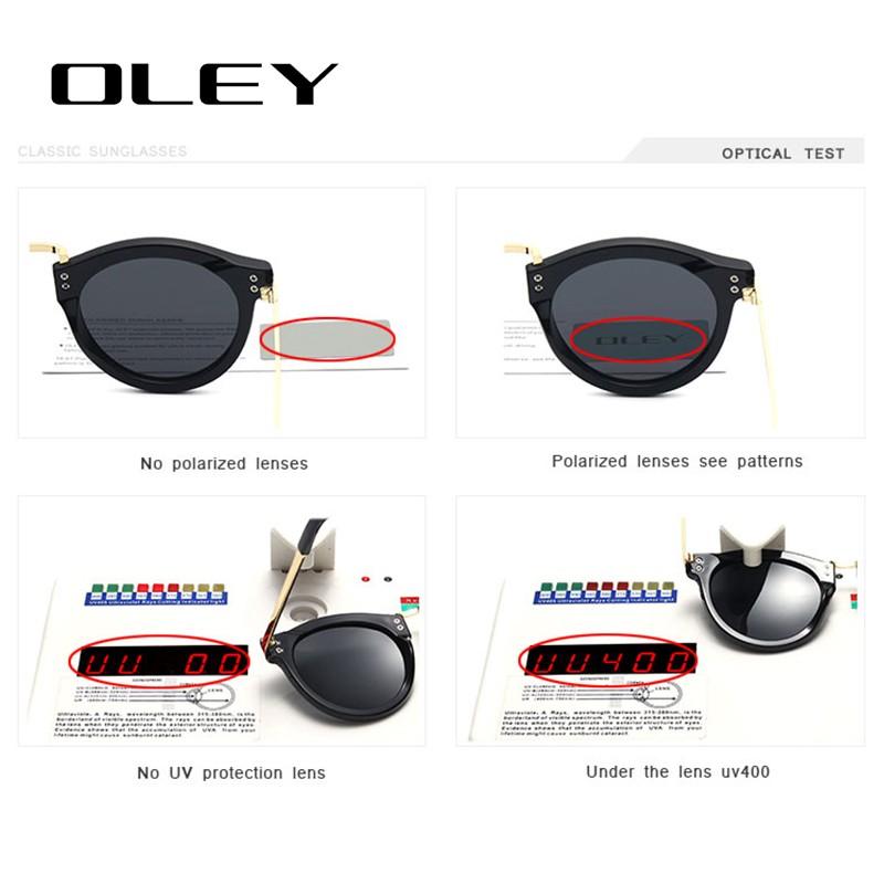 OLEY Women Classic Polarized Sunglasses