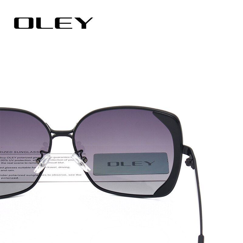 OLEY Women Fashion Butterfly Vintage Sunglasses