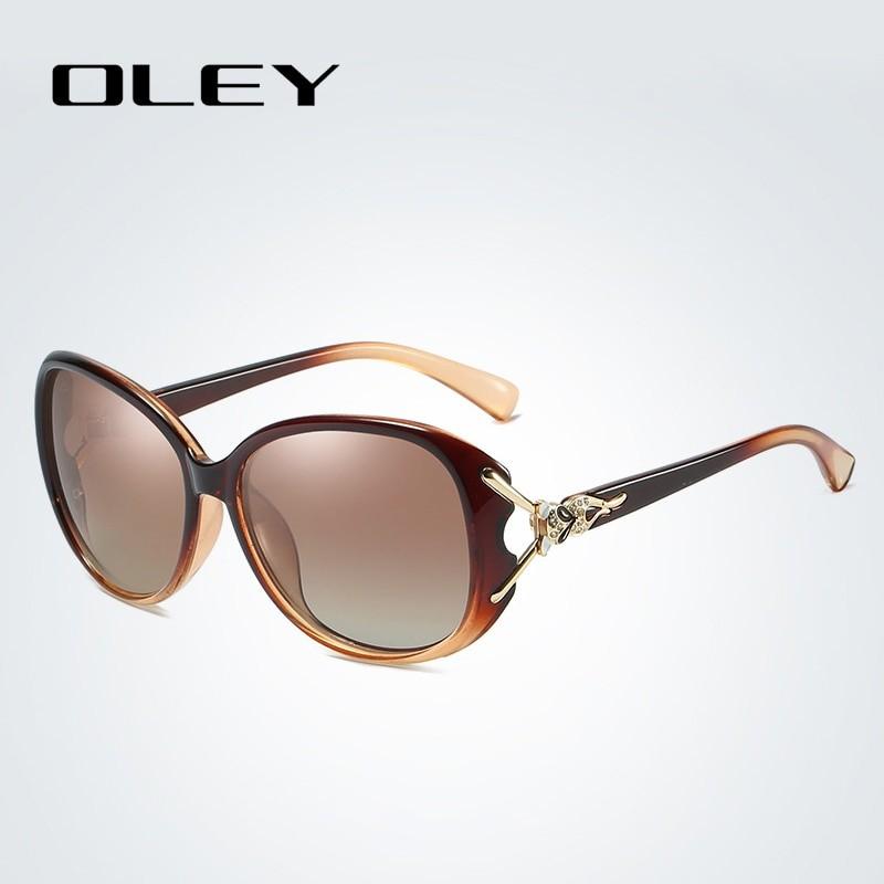 OLEY Women Retro Luxury Sunglasses