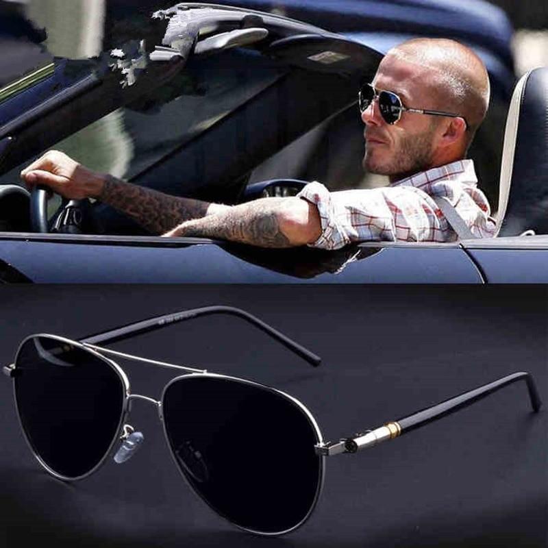 Men Retro Fashion Polarized Driving Sunglasses