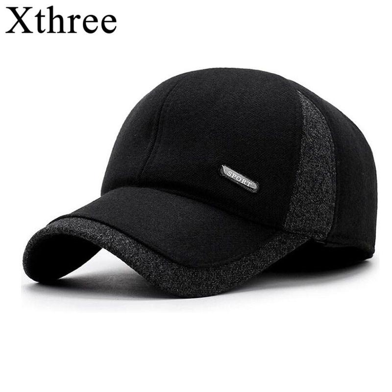 Xthree Men Winter Snow Cap