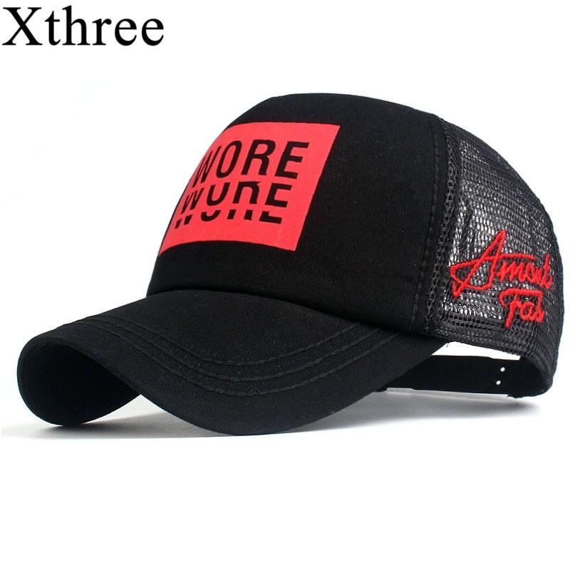 Xthree Unisex Summer Mesh Cap