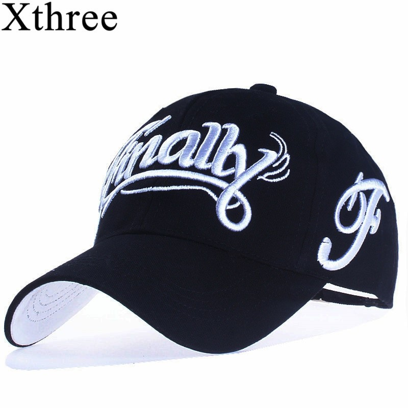 Xthree Unisex 100% Cotton Casual Baseball Cap