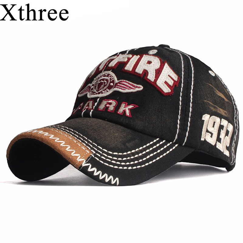 Xthree Unisex Streetwear Baseball Cap