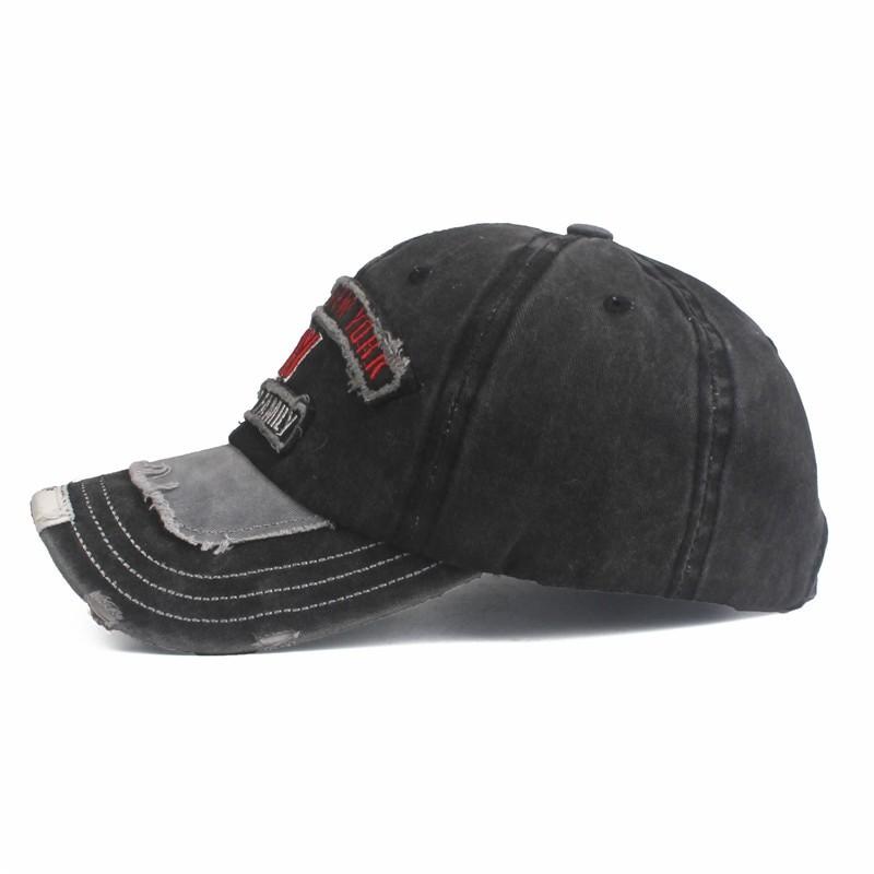 Xthree Unisex Snapback Rough Baseball Cap