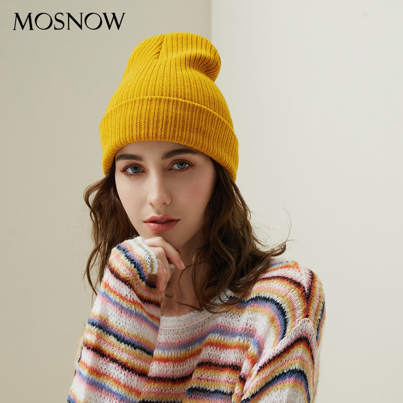 Mosnow Women Winter Skullies