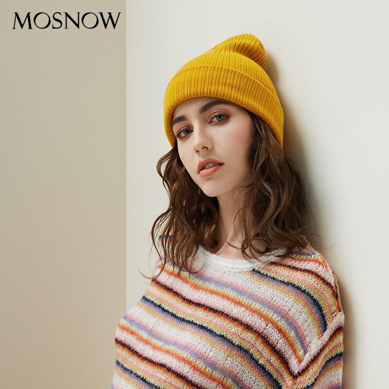 Mosnow Women Winter Skullies