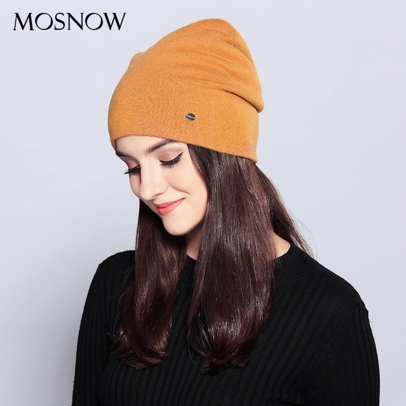 Women Casual Woolen Beanie