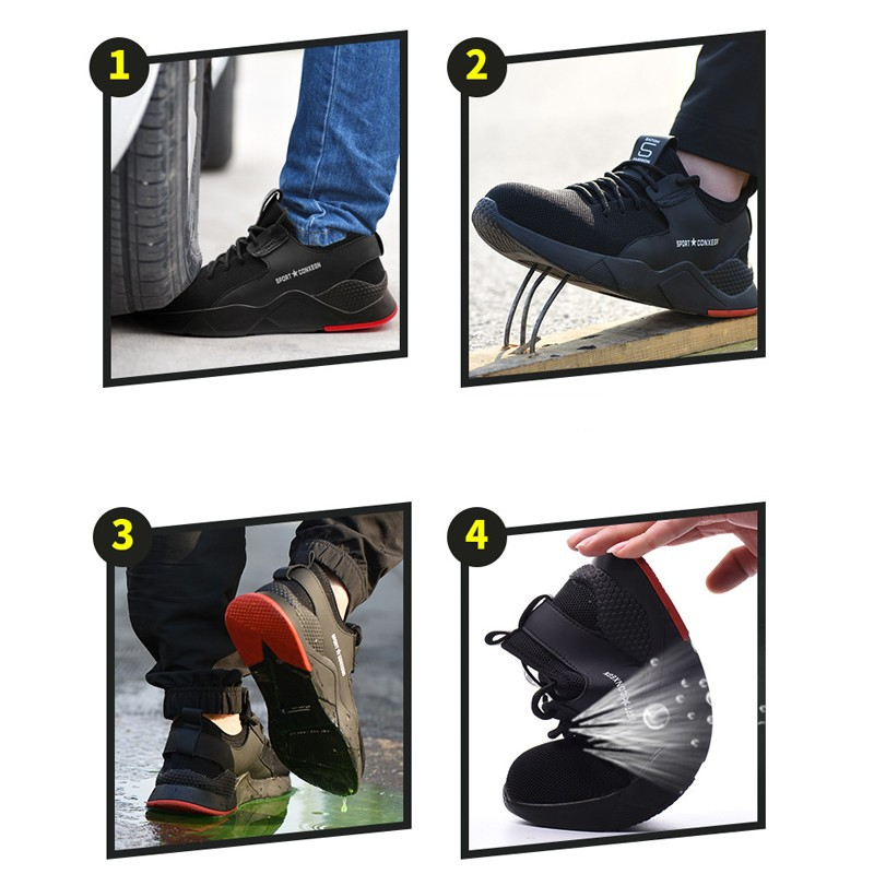 Men Work And Safety Boots