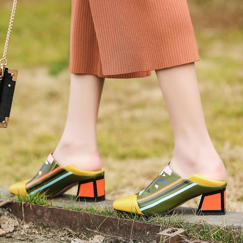 Fedonas Women Synthetic Leather High Heels