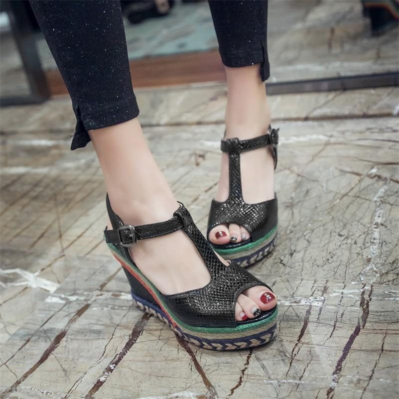 Fedonas Women Classic Peep Toe Sandals