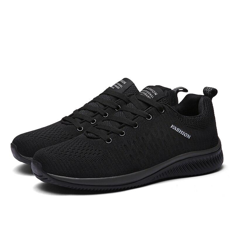 Men Mesh Lace-up Shoes