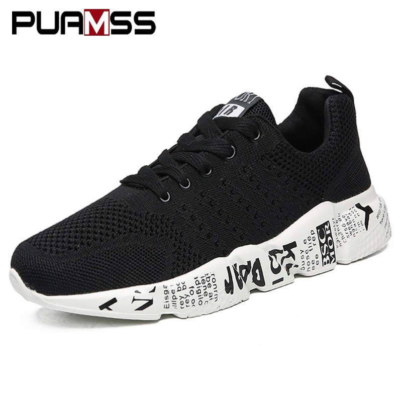 Men Breathable Light Sneakers