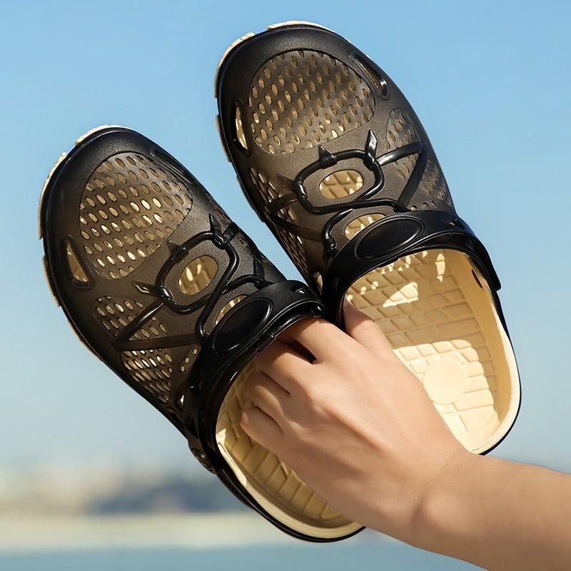 Puamss Men Summer Clog Sandals