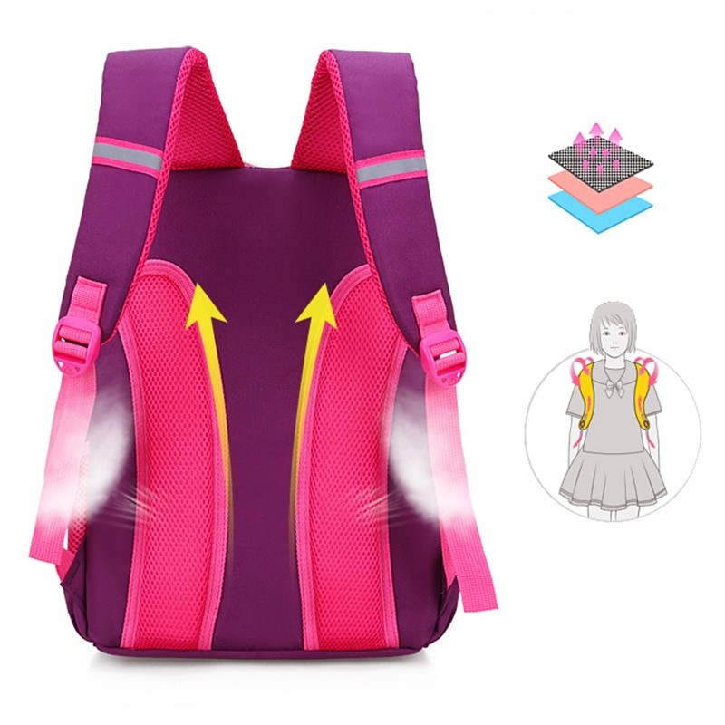 Toddler Kids Waterproof School Bag