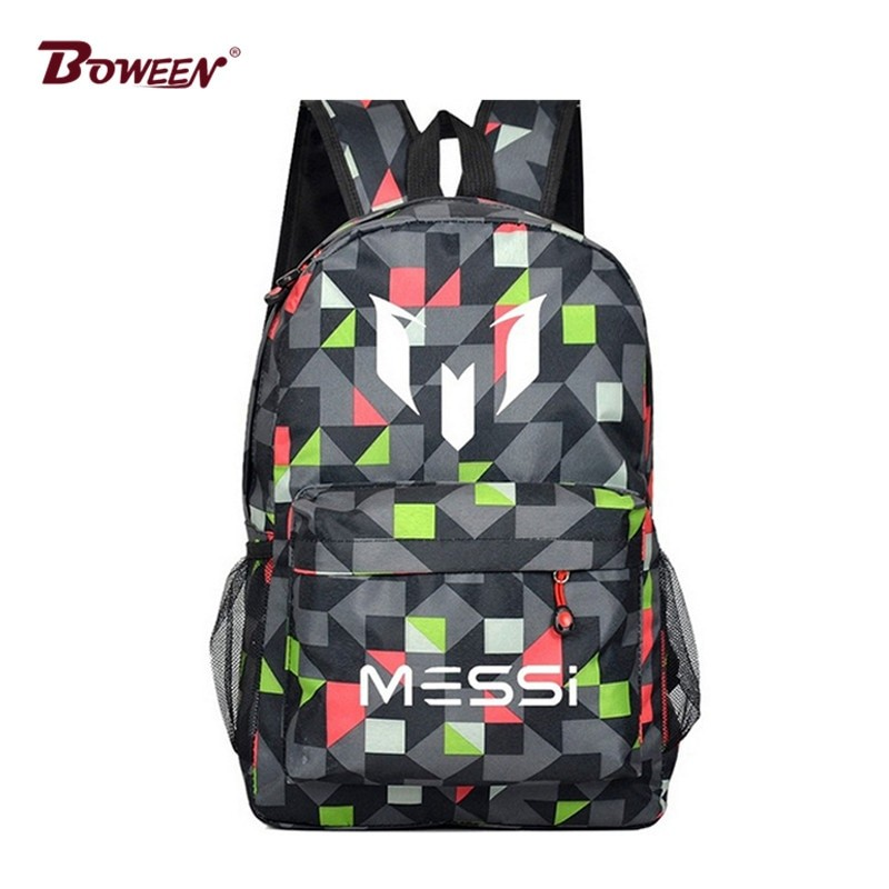 Messi Unisex Teenage School Bag