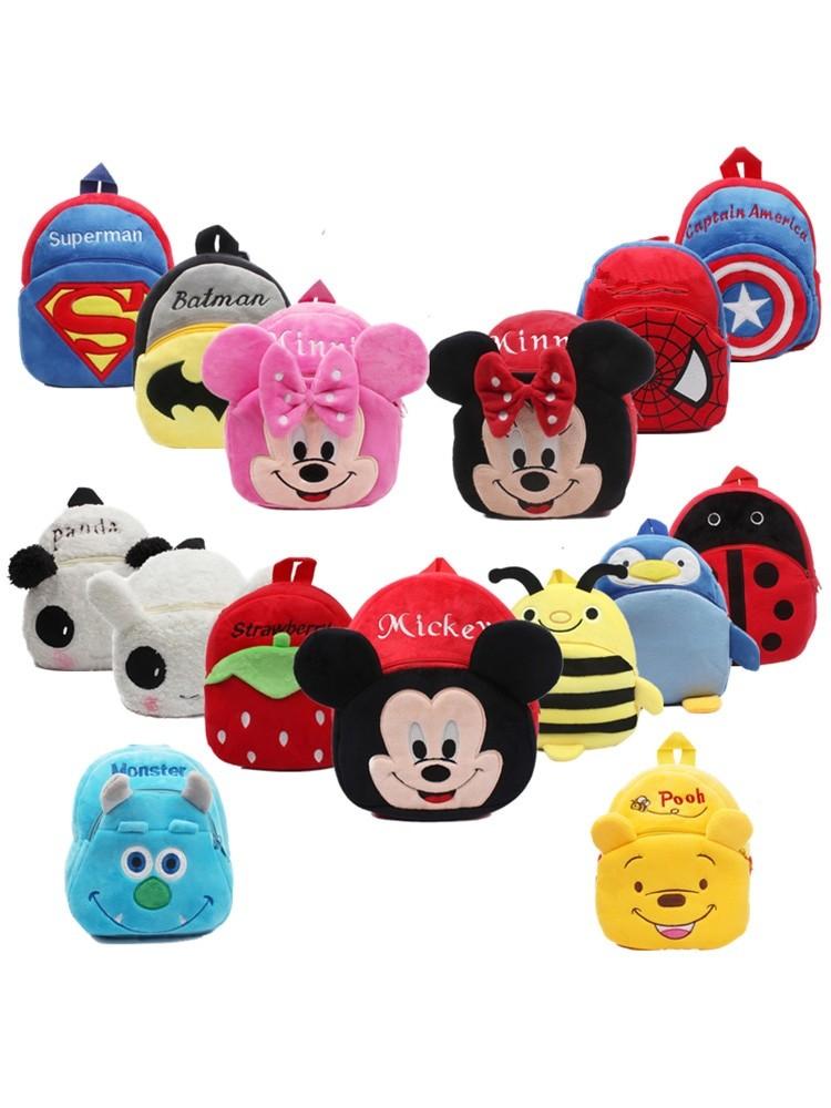 Kids 3D Cartoons Mini School Bag
