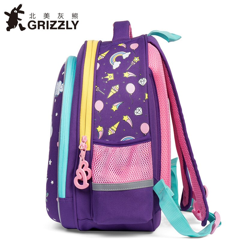 Grizzly Kids School Bag