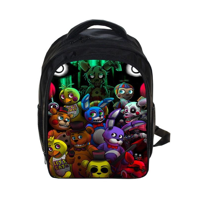 Five Nights at Freddy Kids School Bag