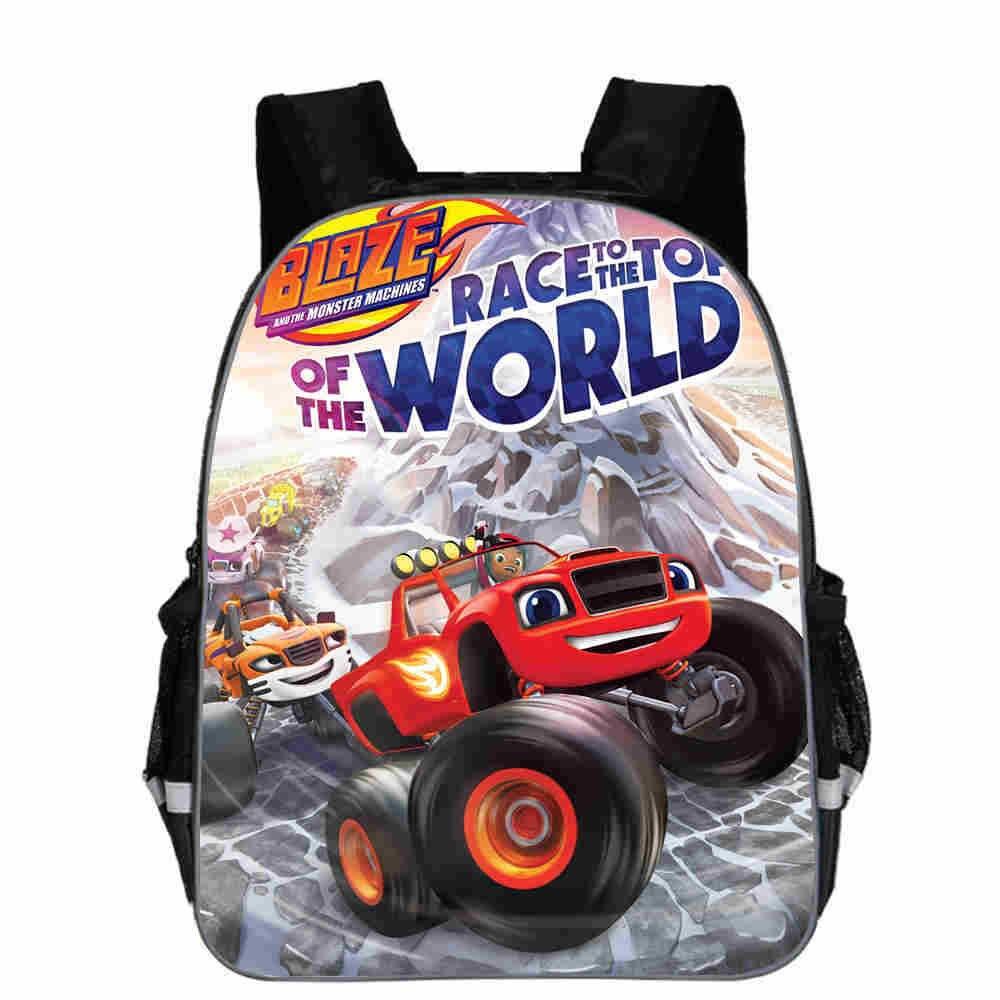 The Monster Machine Kids School Bag