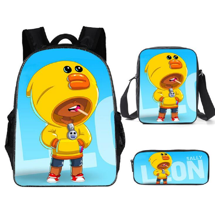 Stars Leon Boys School Bag