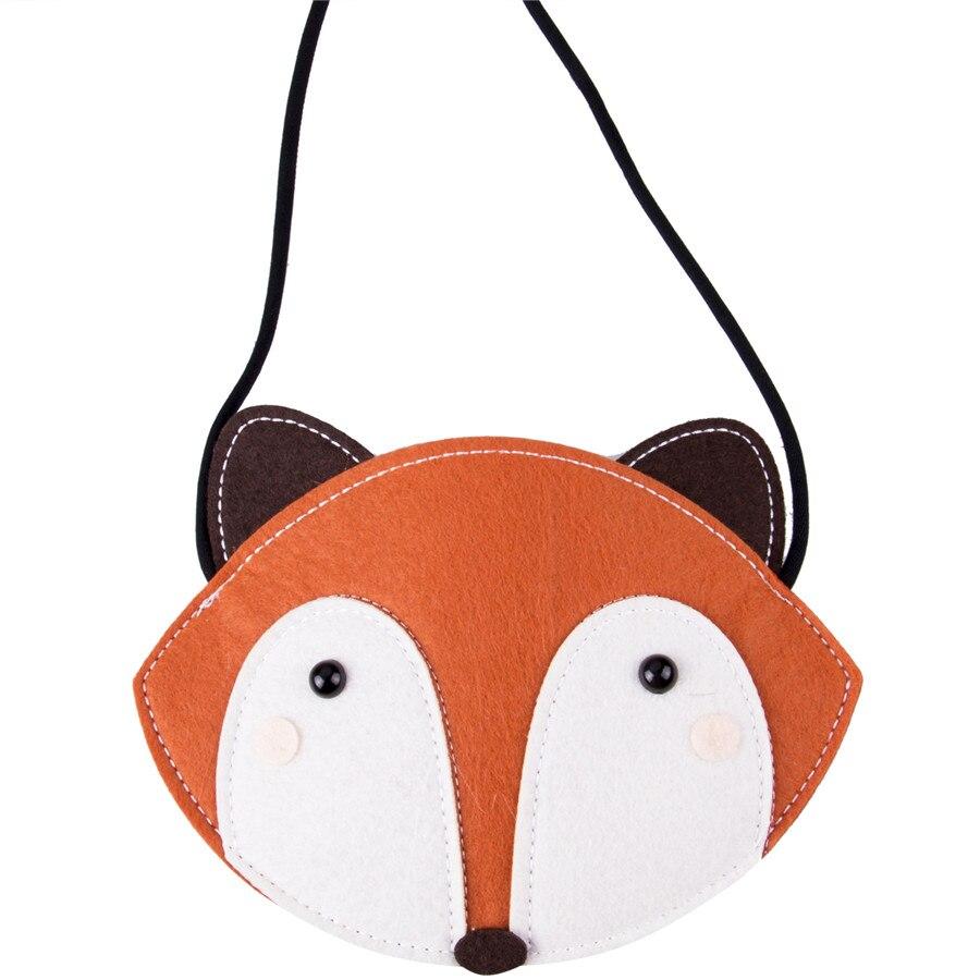 Kids Cartoon Fox Shoulder Bag