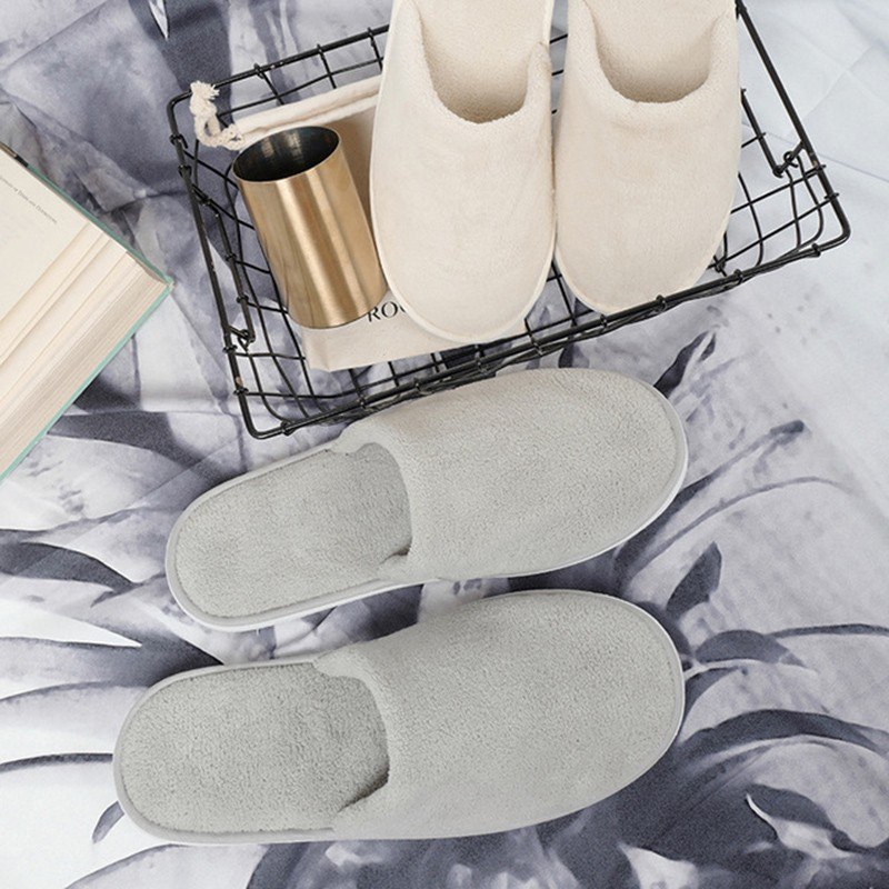 Unisex Disposable Home Slippers