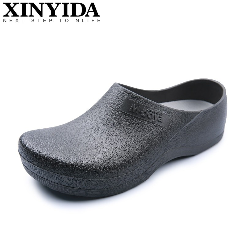 Xinyida Men Casual Chef Shoes