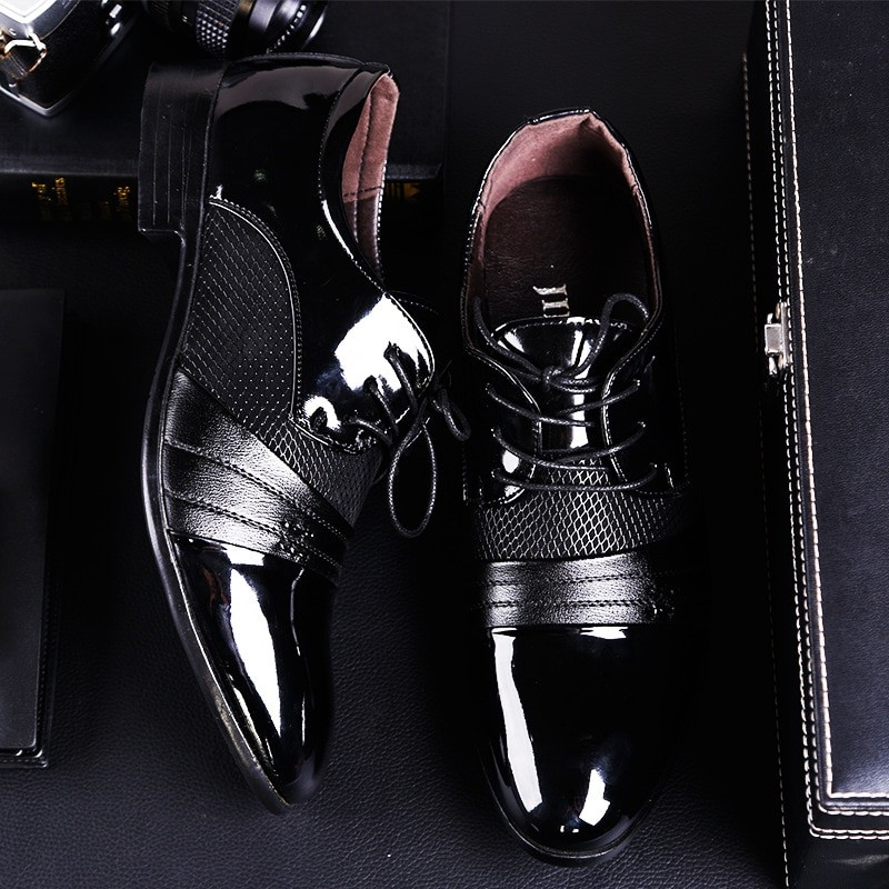 Hikdooer Men Formal Shoes