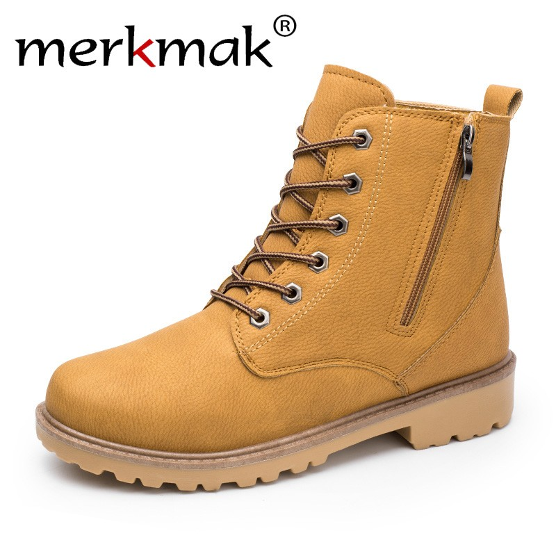 Merkmak Men Casual Ankle Boots