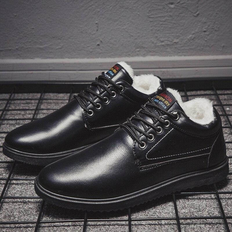 Men Warm Cotton Shoes