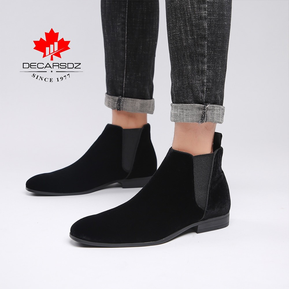 Decarsdz Men Casual Boots