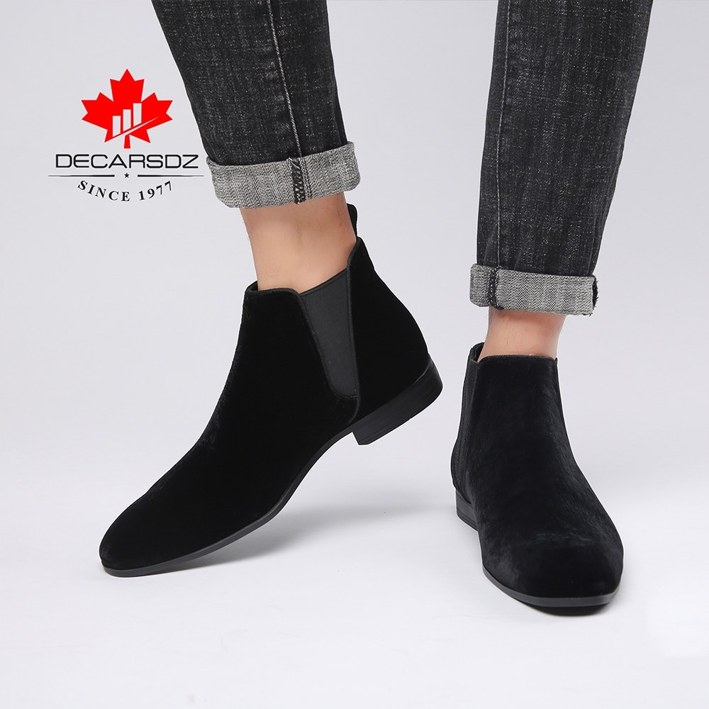 Decarsdz Men Casual Boots