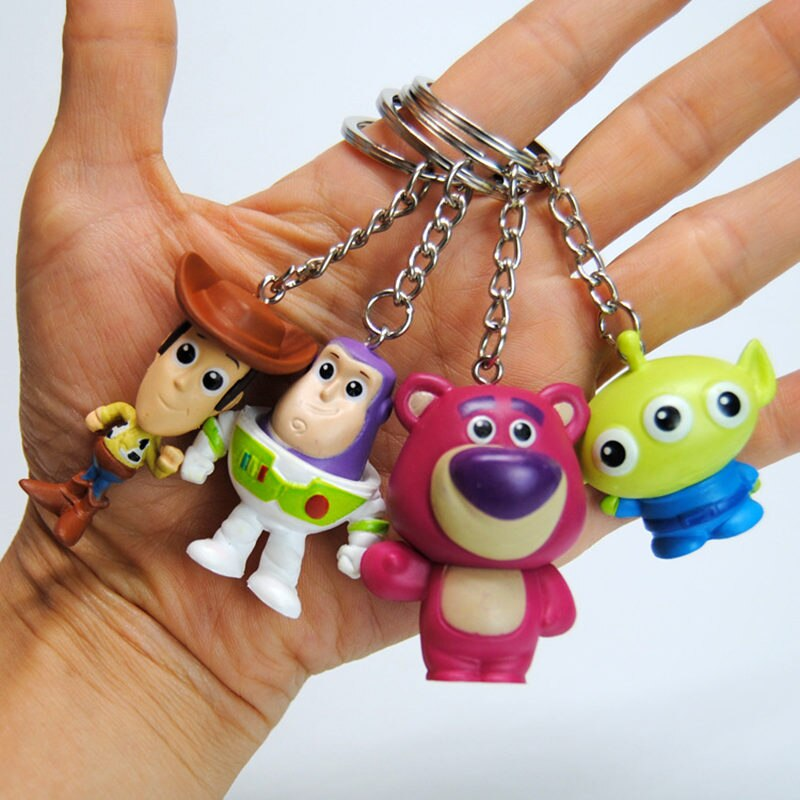 Disney 4pcs/set Toy Story 4 Keychain