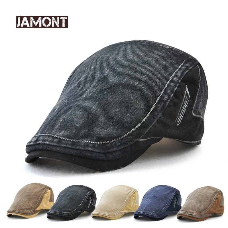 Jamont Unisex Denim Summer Cap