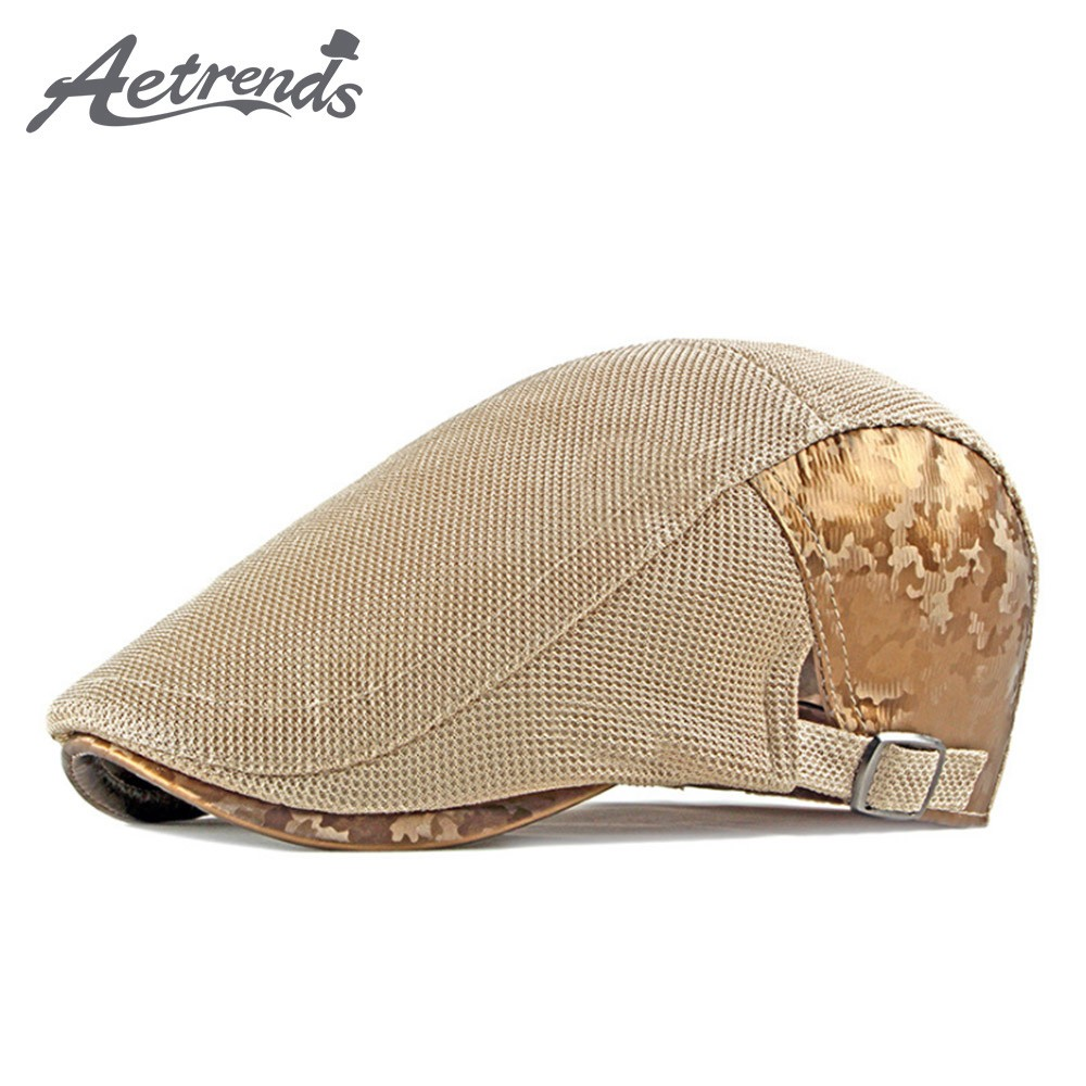 Aetrends Men Traditional Hollow Cap