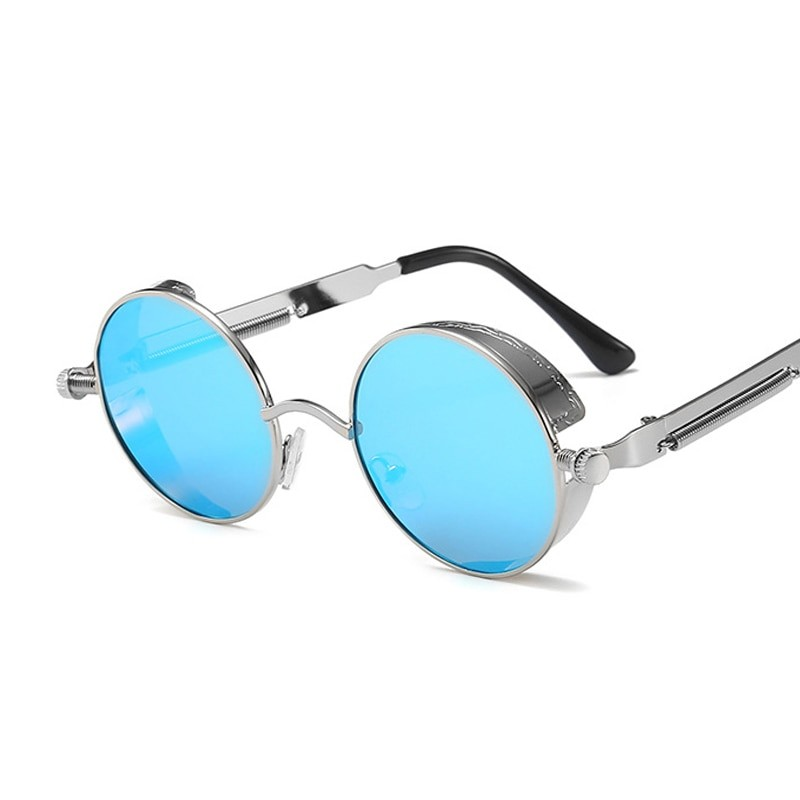 Women Round Metal Frame Sunglasses