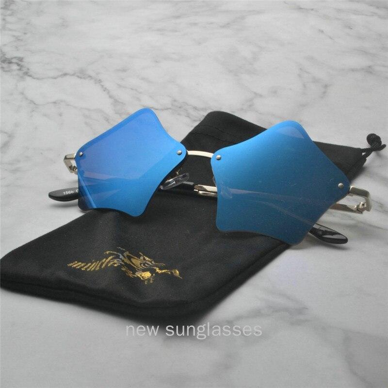 Mincl Women Frameless Sunglasses
