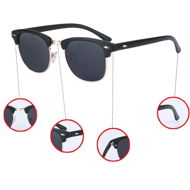 Banned Unisex UV400 Polarized  Sunglasses