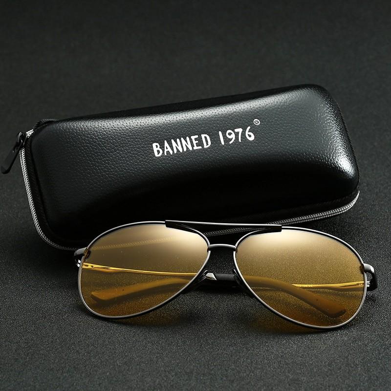 Banned Men Anti-Glare Night Vision glasses