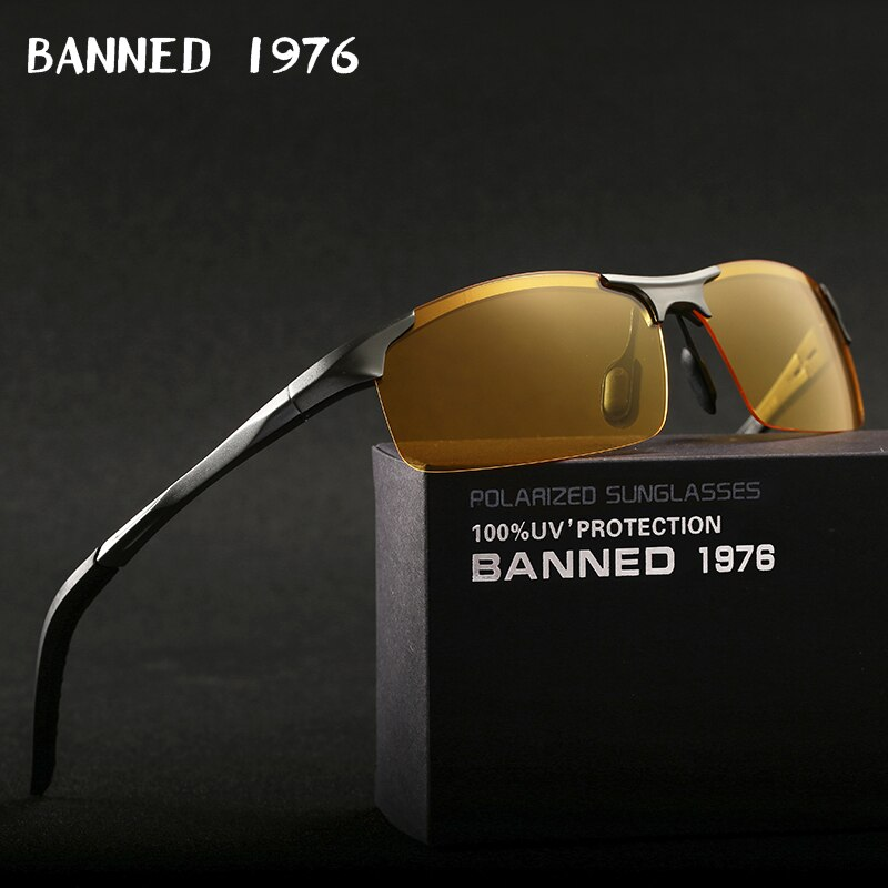 Banned Men Polarized Night Vision glasses