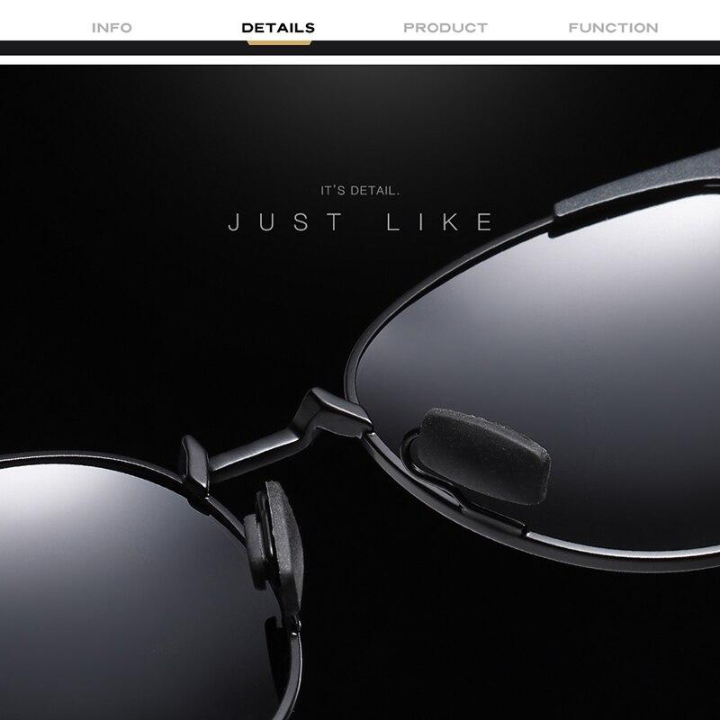 Banned Men Aluminum Polarized Sunglasses