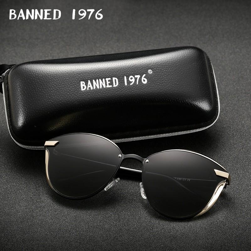 Banned 1976 Women Vintage Sunglasses